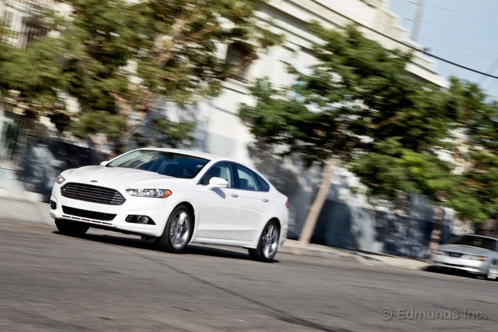 Used 2015 Ford Fusion S Sedan Review  Ratings Edmunds