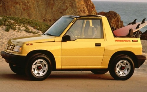Used 1995 Geo Tracker Pricing - For Sale Edmunds