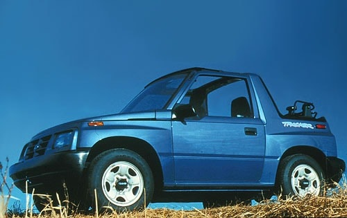 Used 1997 Geo Tracker SUV Pricing - For Sale Edmunds