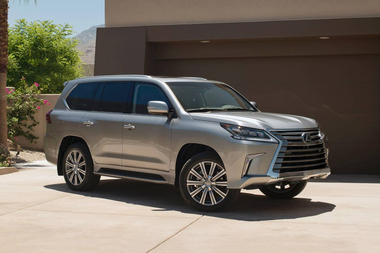 Lexus Suv 2018 2018 Lexus Lx 570 Pricing For Sale Edmunds