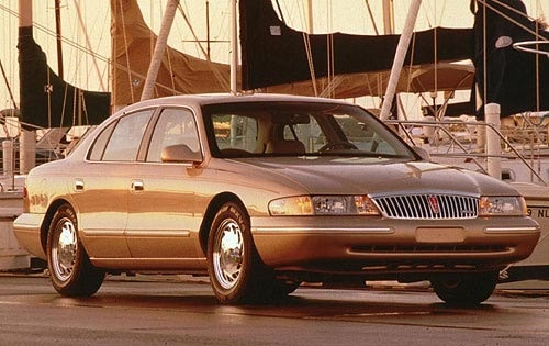 Used 1998 Lincoln Continental Pricing - For Sale Edmunds