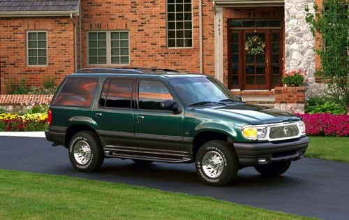 Used 2001 Mercury Mountaineer Pricing - For Sale Edmunds
