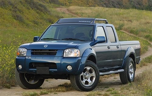2003 Nissan Frontier 33L V6 Supercharger 4x4 4-speed Automatic 62