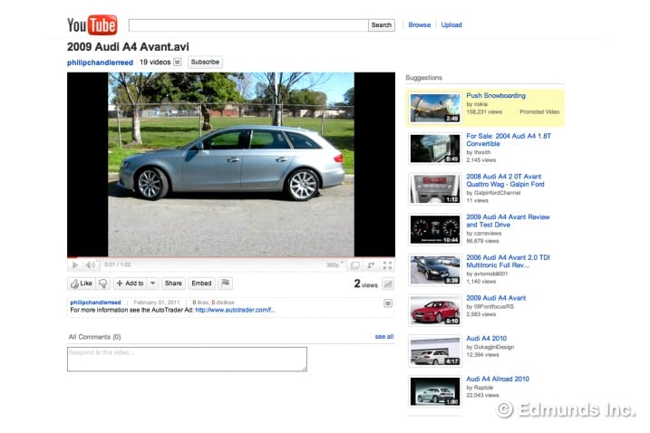 Make a YouTube Video Ad To Sell Your Used Car Edmunds