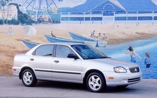 Used 2002 Suzuki Esteem Pricing - For Sale Edmunds