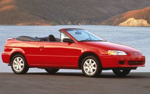 Used 1997 Toyota Paseo Convertible Pricing - For Sale Edmunds