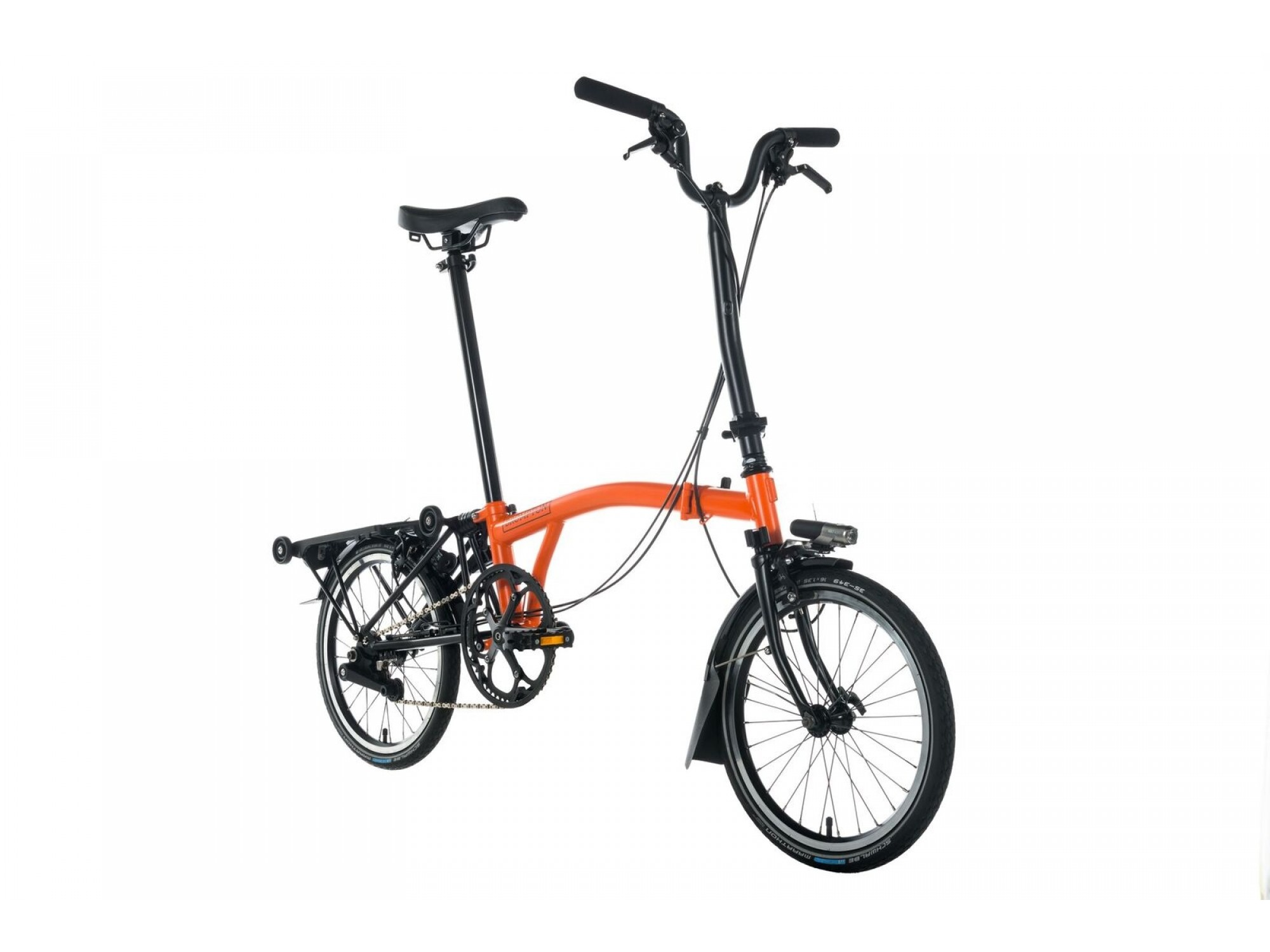 Brompton Bikes Brompton M6l Black Edition Folding Bike Edinburgh Bike Co Op