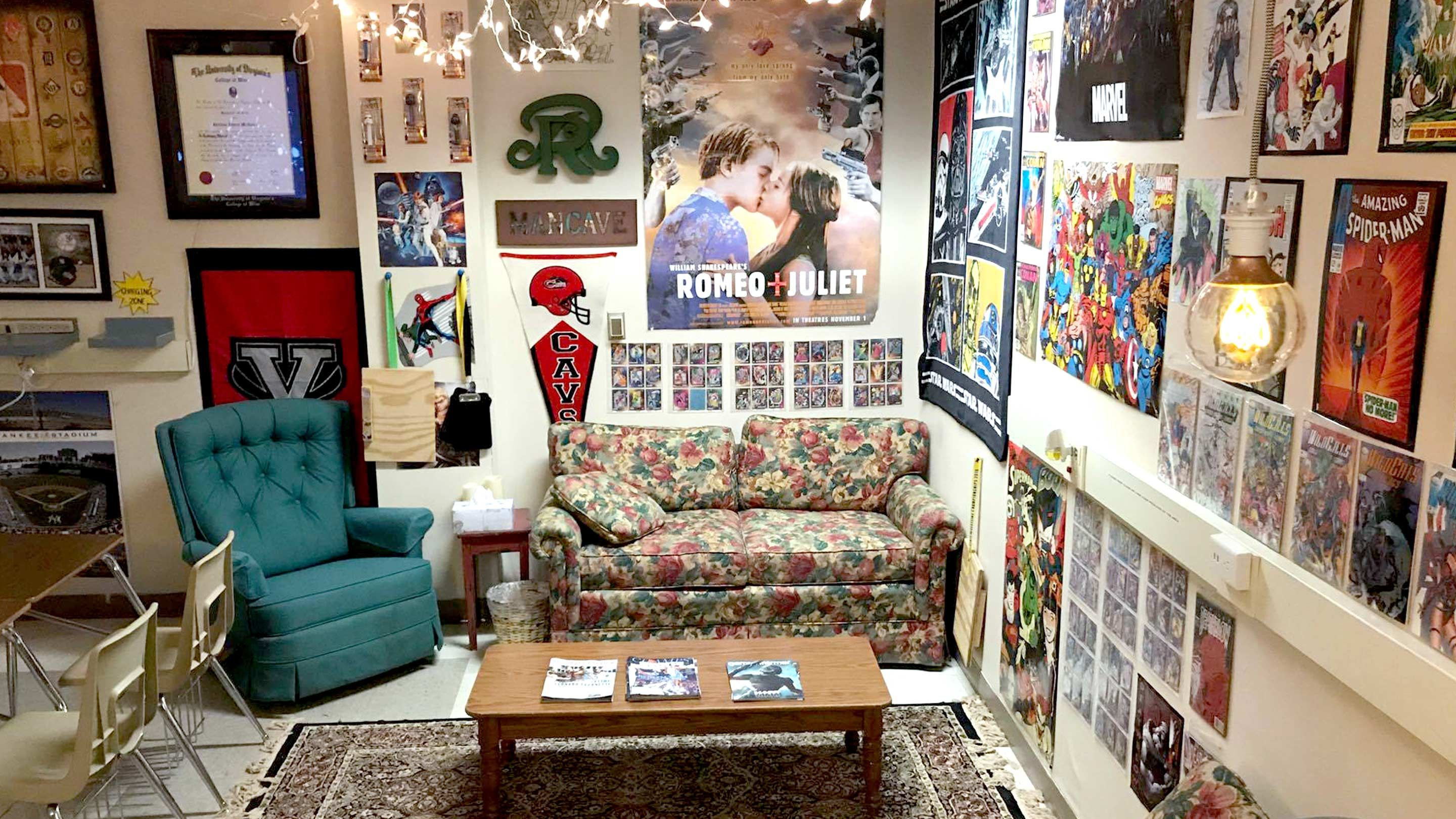 Big Couch Small Door High School Flexible Seating Done Right Edutopia