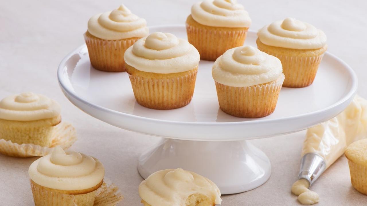 Classic Vanilla Cupcakes Recipe Eggsca