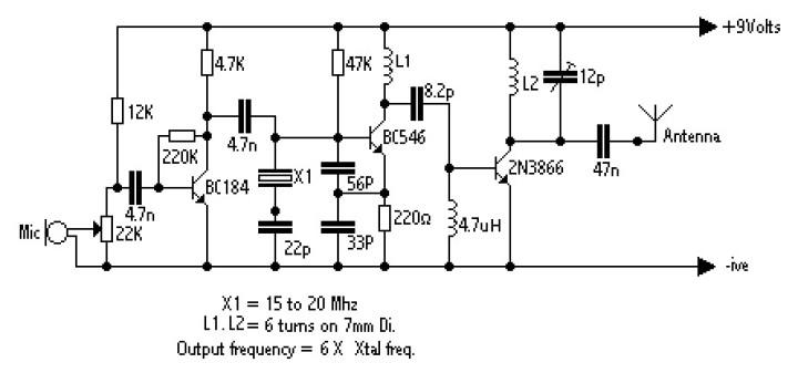 250mw fm transmitter amplifier
