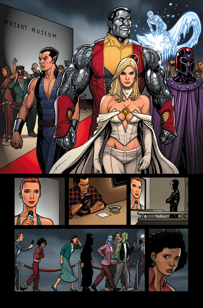 Superman Animated Wallpaper Sdcc 11 No Cyclops For Emma Frost