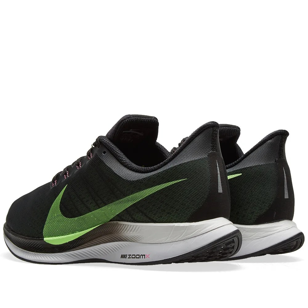 Nike Zoom Grey And Green Nike Zoom Pegasus 35 Turbo