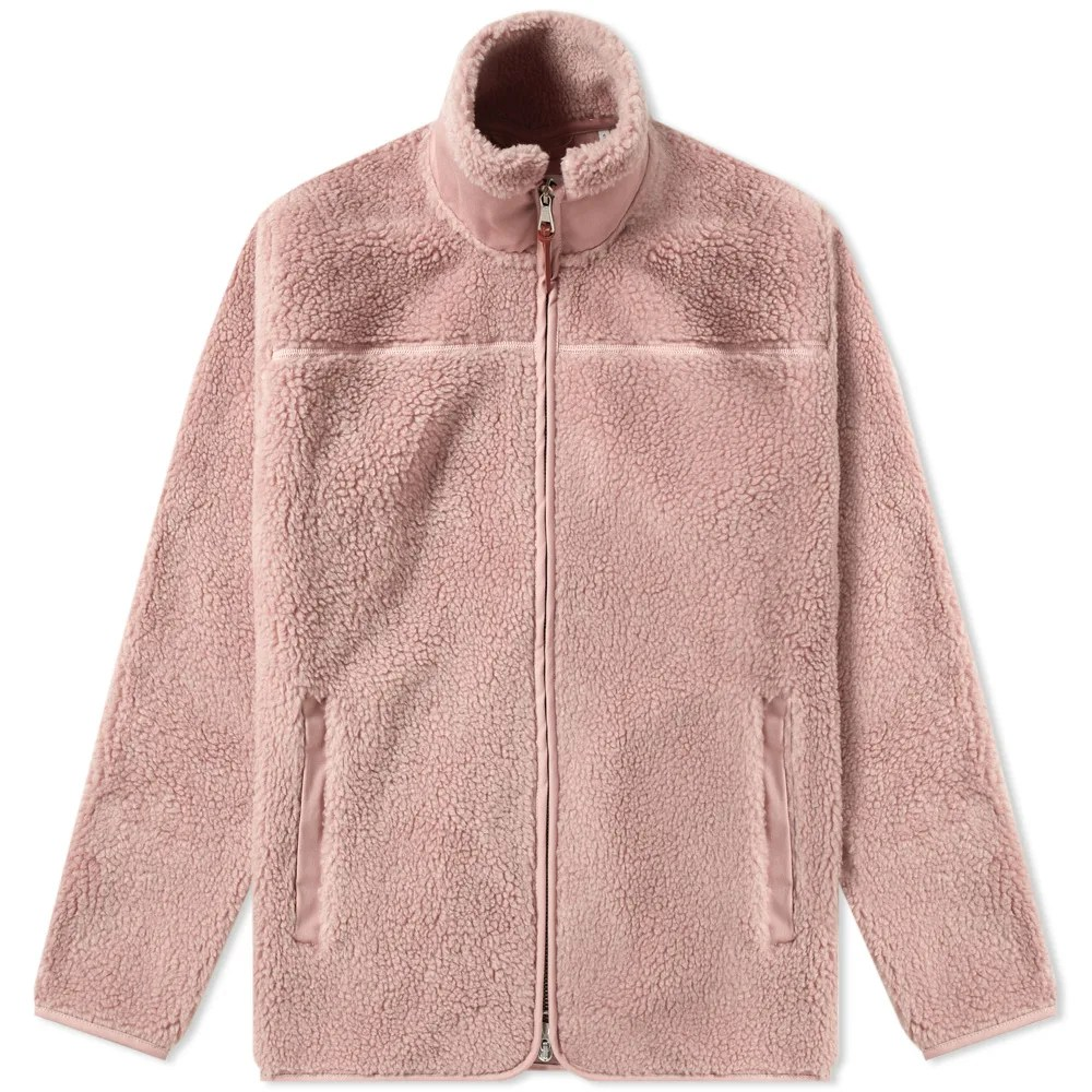 Polar Fleece Bettwäsche Albam Combat Polar Fleece Jacket Pink | End.