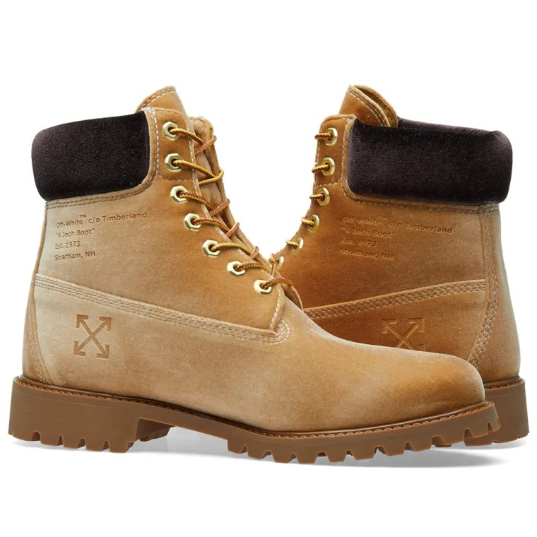 Off-White x Timberland Boot (Beige) END