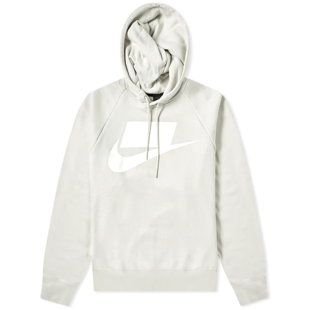 Amsterdam Gel Medium Nike Nsw Block Futura Popover Hoody Light Bone & White | End.