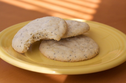 Lemon-Poppyseed Sugar Cookies