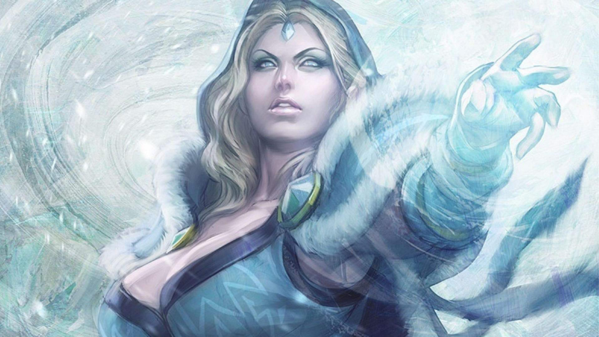 Girl Playing In Water Wallpaper Best Heroes In Dota 2 Esports Edition