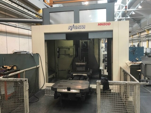 Palette Cad Niigata Hn80d Machining Center - Palletized - Exapro