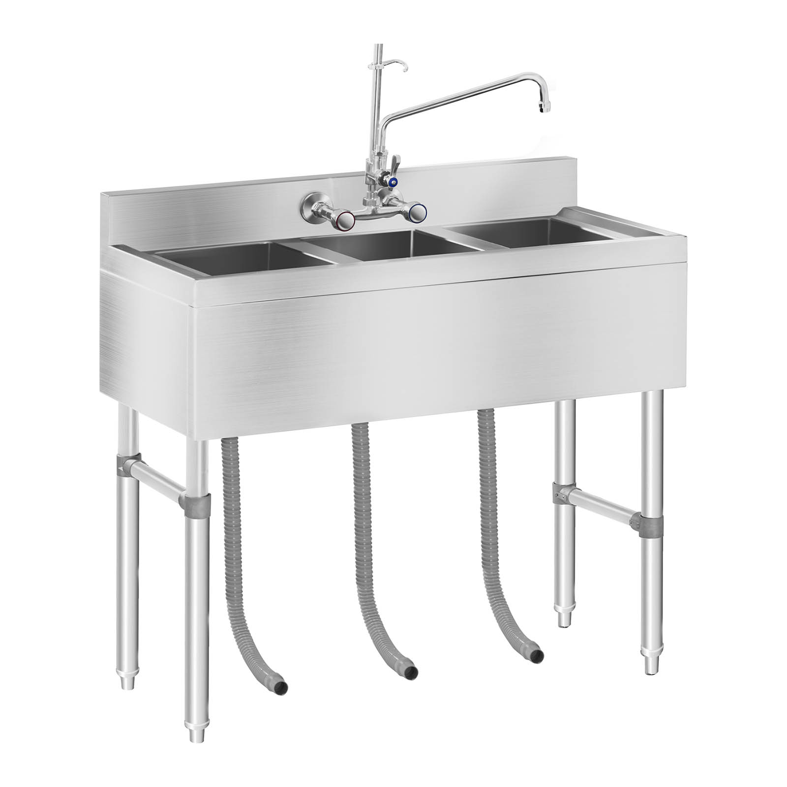 Schrank 2m Breit Commercial Kitchen Sink Three Basin Catering Sink