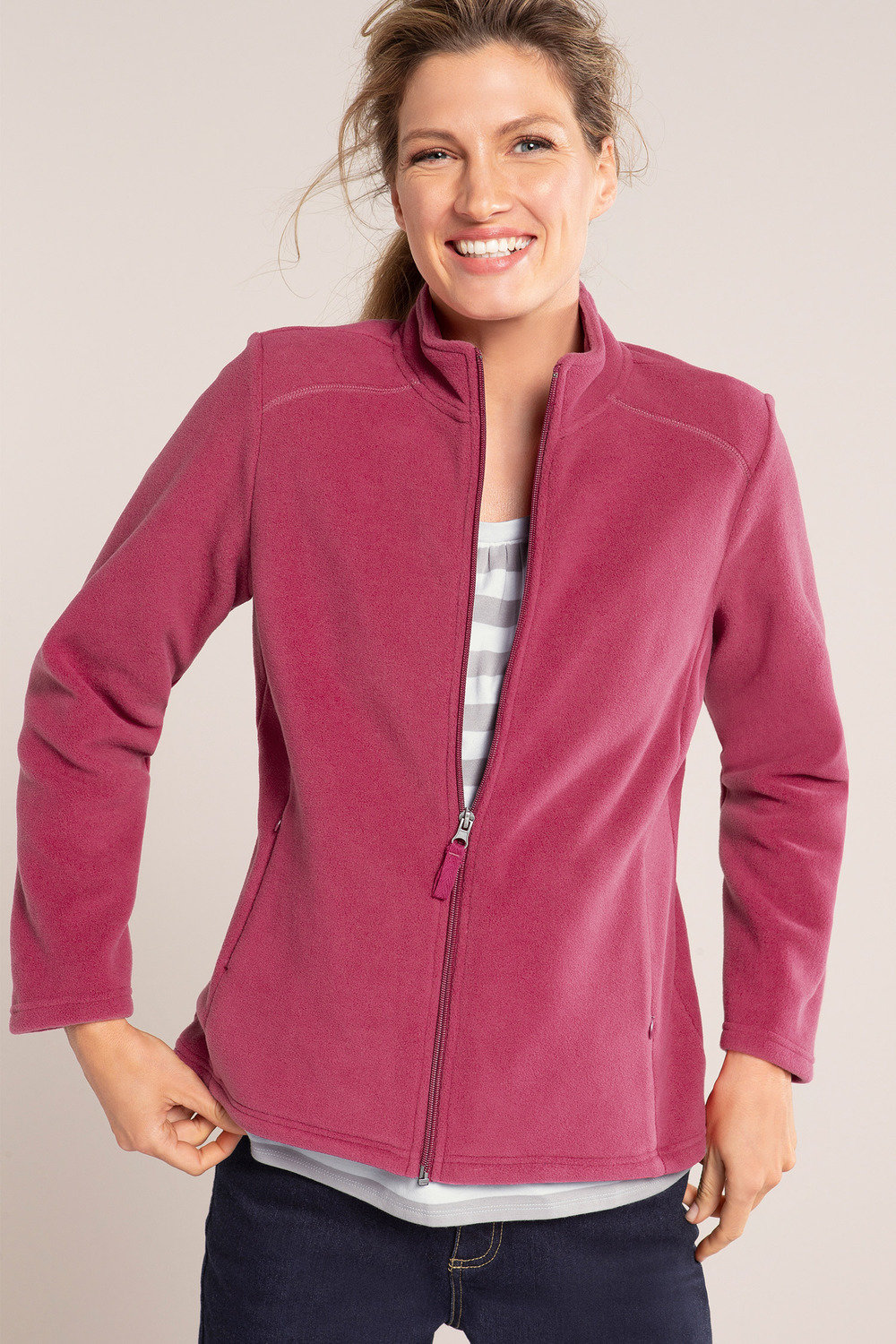 Polar Fleece Bettwäsche Capture Zip Micro Polar Fleece Jacket Online | Shop Ezibuy