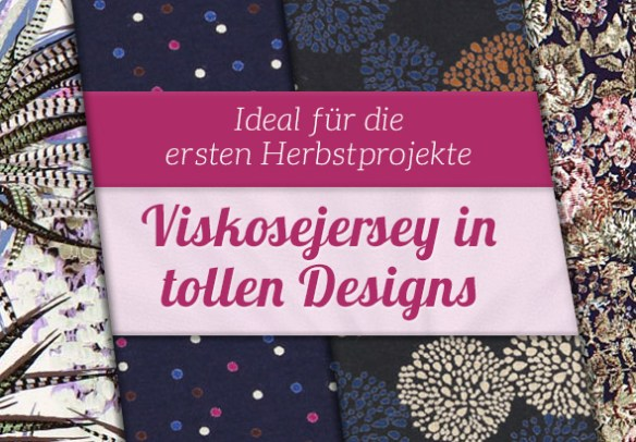 Neu bei stoffe.de: Große Auswahl an Viskosejersey in gedeckten Farben