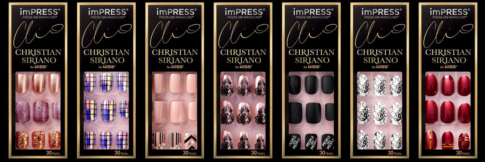 Kiss Nails Exclusive Christian Siriano Collection News