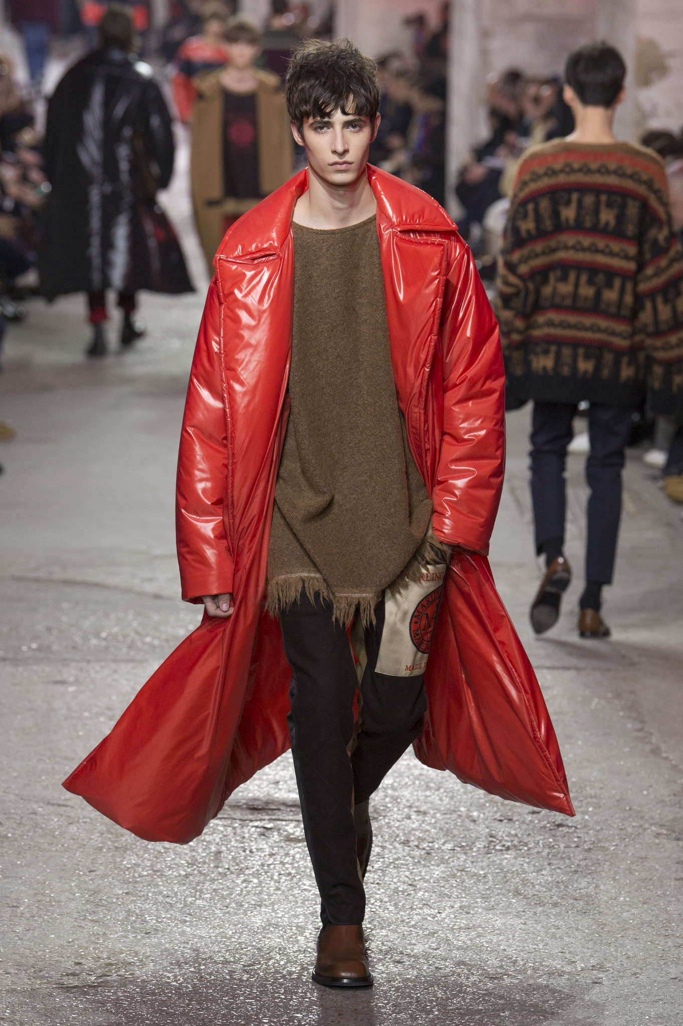 Ten top aw 2017 18 men s fashion week trends news
