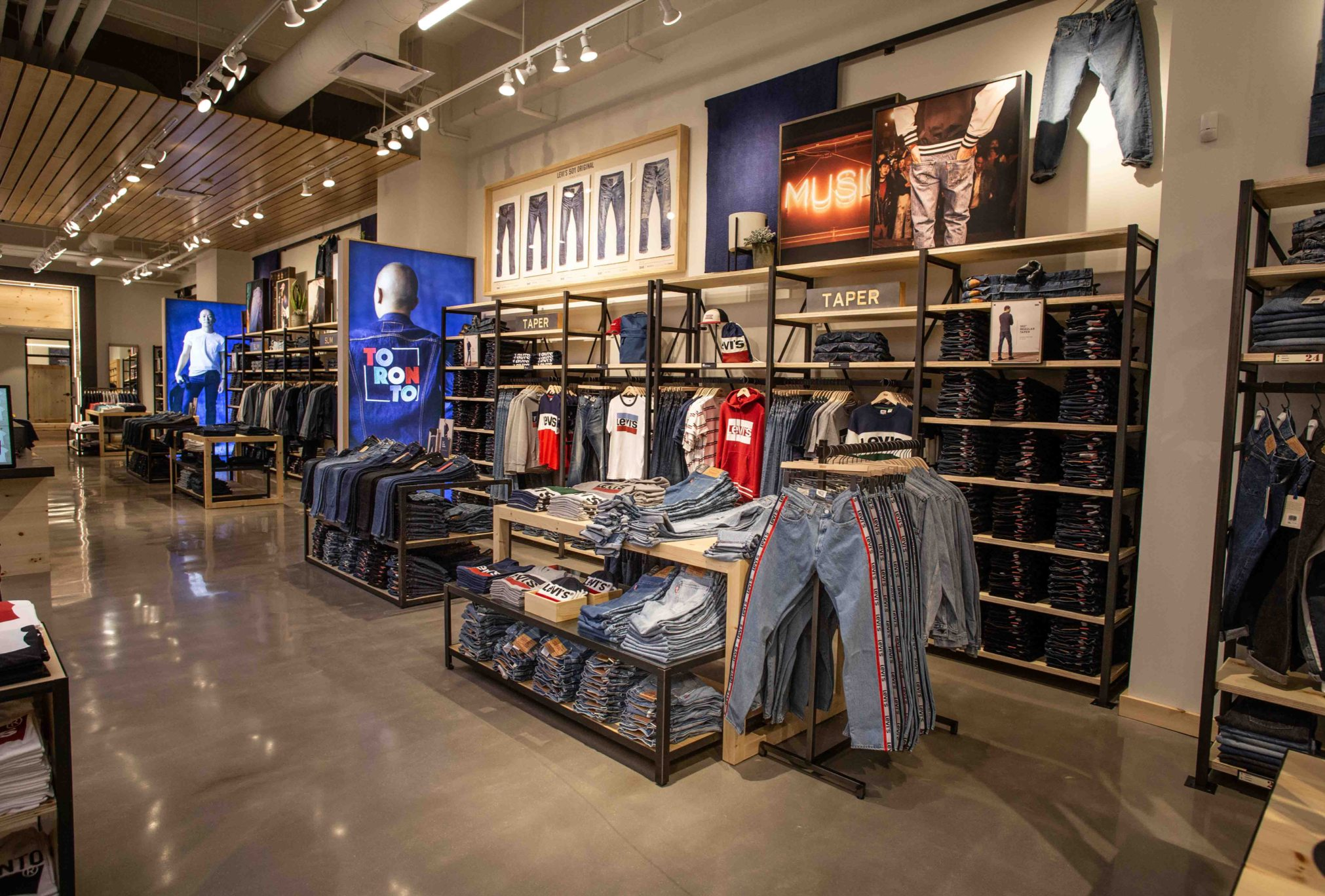 Levis Shop Levi's Expands Global Retail Footprint With Toronto ...