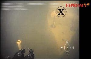 Extern bild av den sjunkna ubåten, Foto: Ocean X