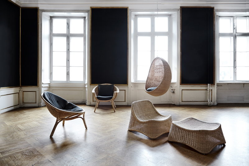 Sika Design Hanging Egg Chair Dark Grey Seat Cushion