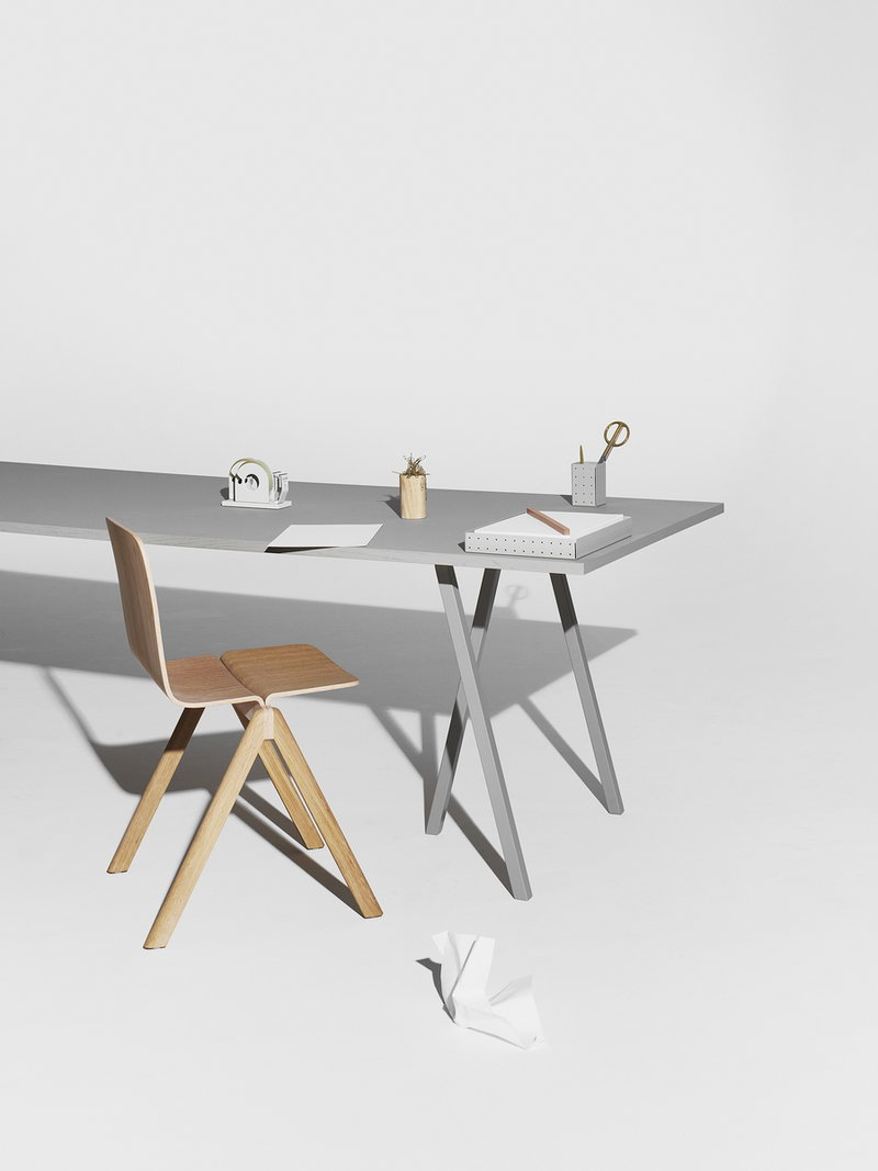 Table 200 Hay Loop Stand Table 200 Cm Grey Finnish Design Shop