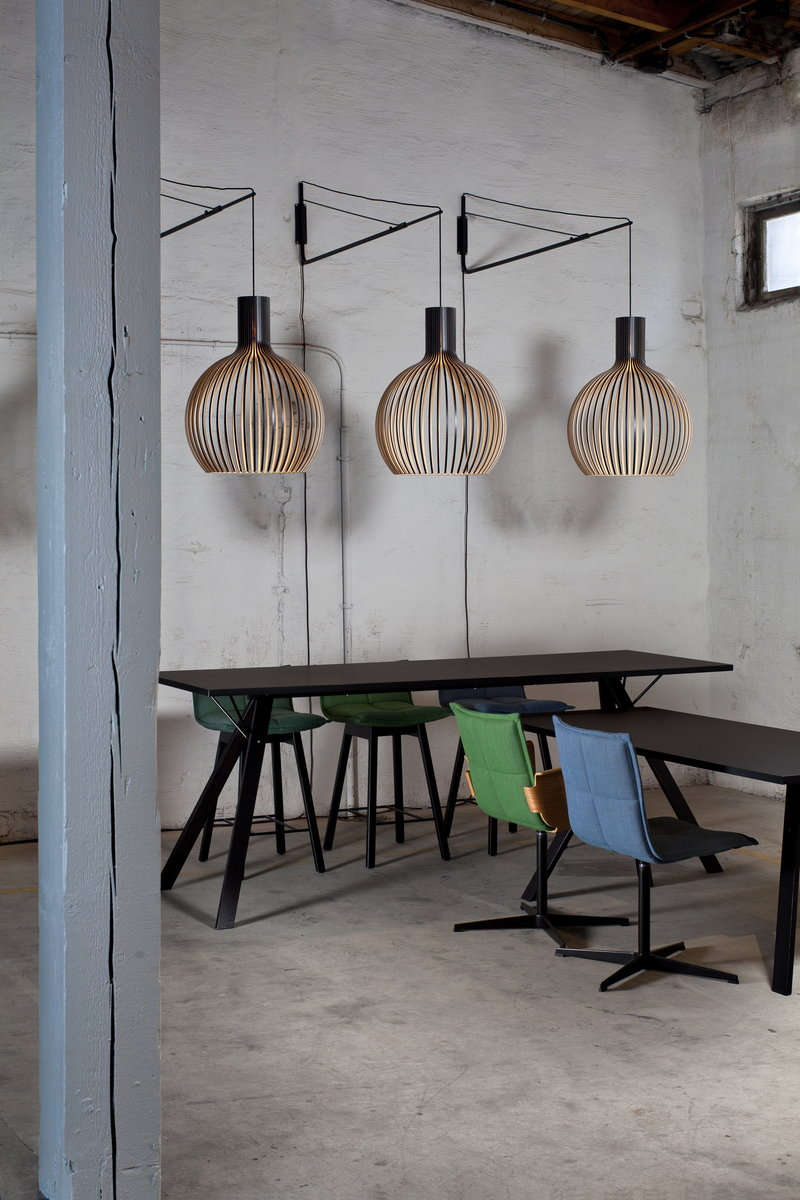 Suspension Octo Secto Design Octo 4240 Pendant Black Finnish Design Shop