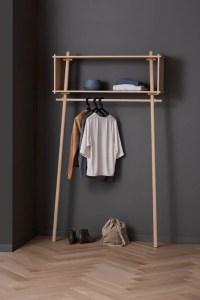 Woud Tjbox coat rack, large, oak   Finnish Design Shop
