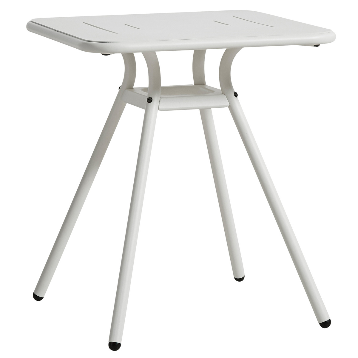 Cafe Table Woud Ray Café Table 65 Cm Square White Finnish Design Shop