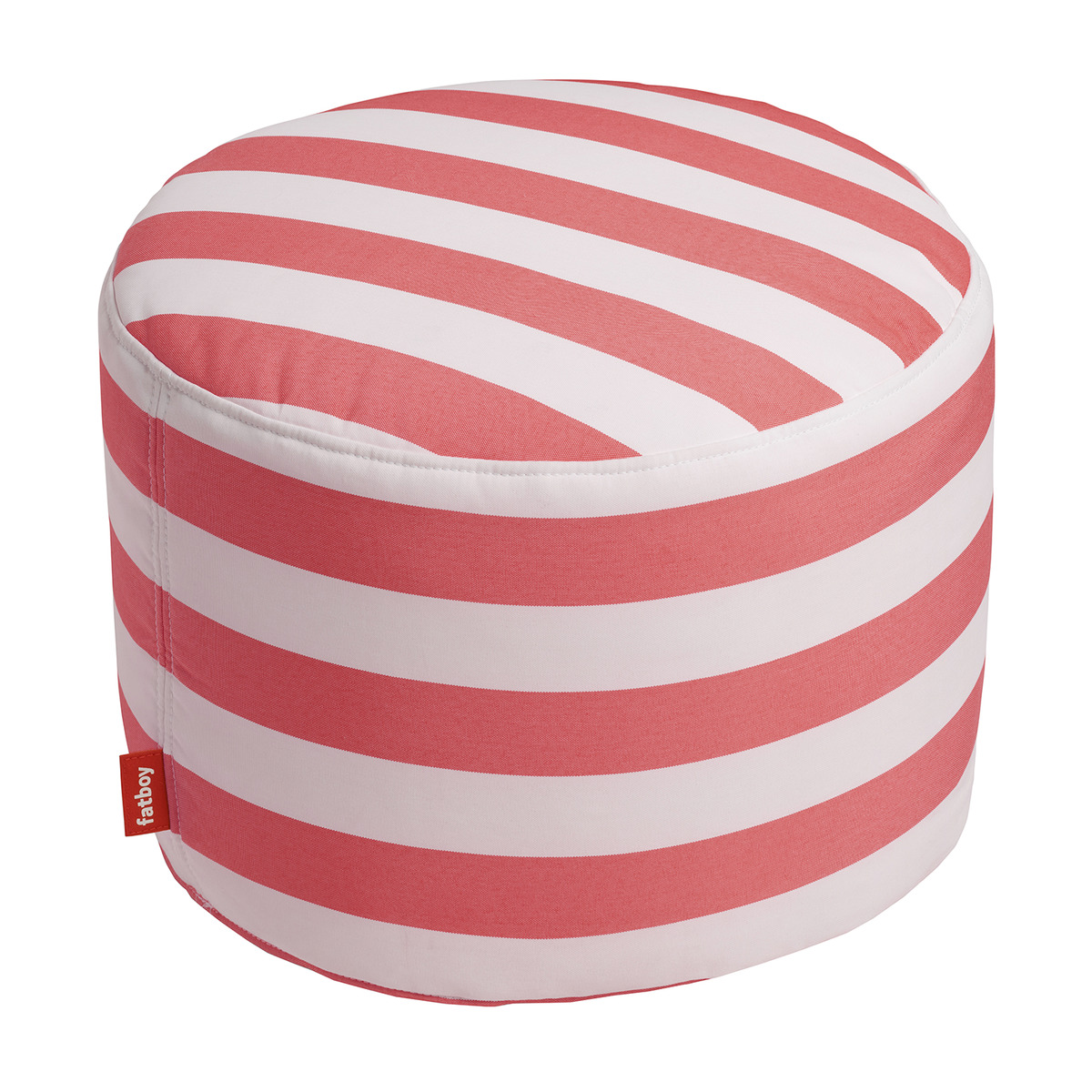 Fatboy Point Outdoor Pouf Striped Red White Finnish Design Shop