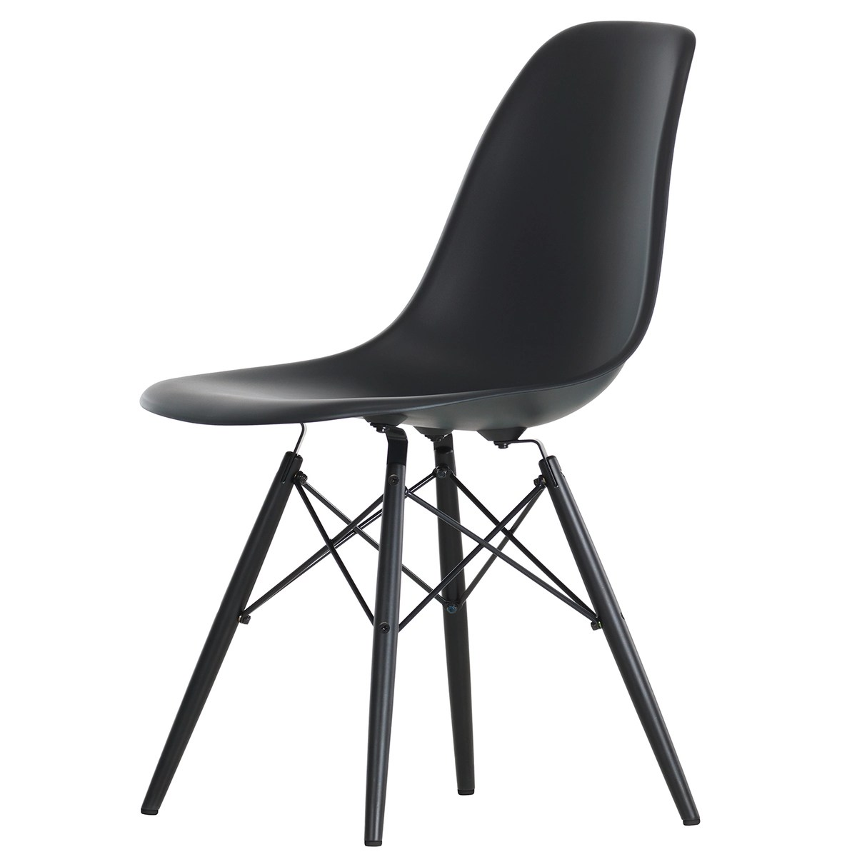Eames Dsw Eames Dsw Chair Basic Dark Black Maple