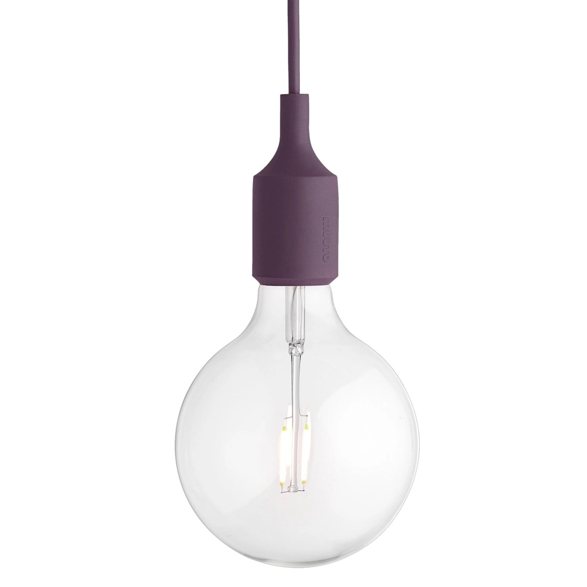 E27 Sockel E27 Led Socket Lamp Burgundy