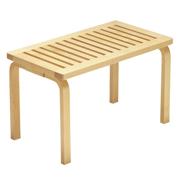 Artek Aalto bench 153B, birch Finnish Design Shop - contract important elements