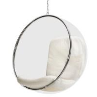 Eero Aarnio Originals Bubble Chair, white   Finnish Design ...