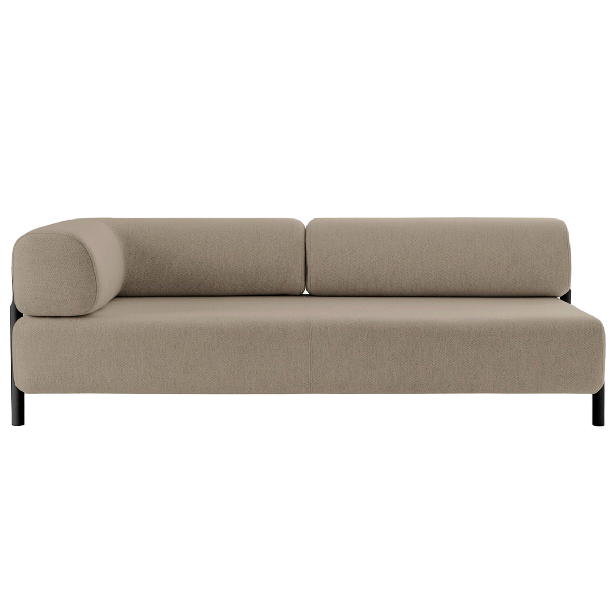 Hem Palo 2 Seater Chaise Left Beige Finnish Design Shop