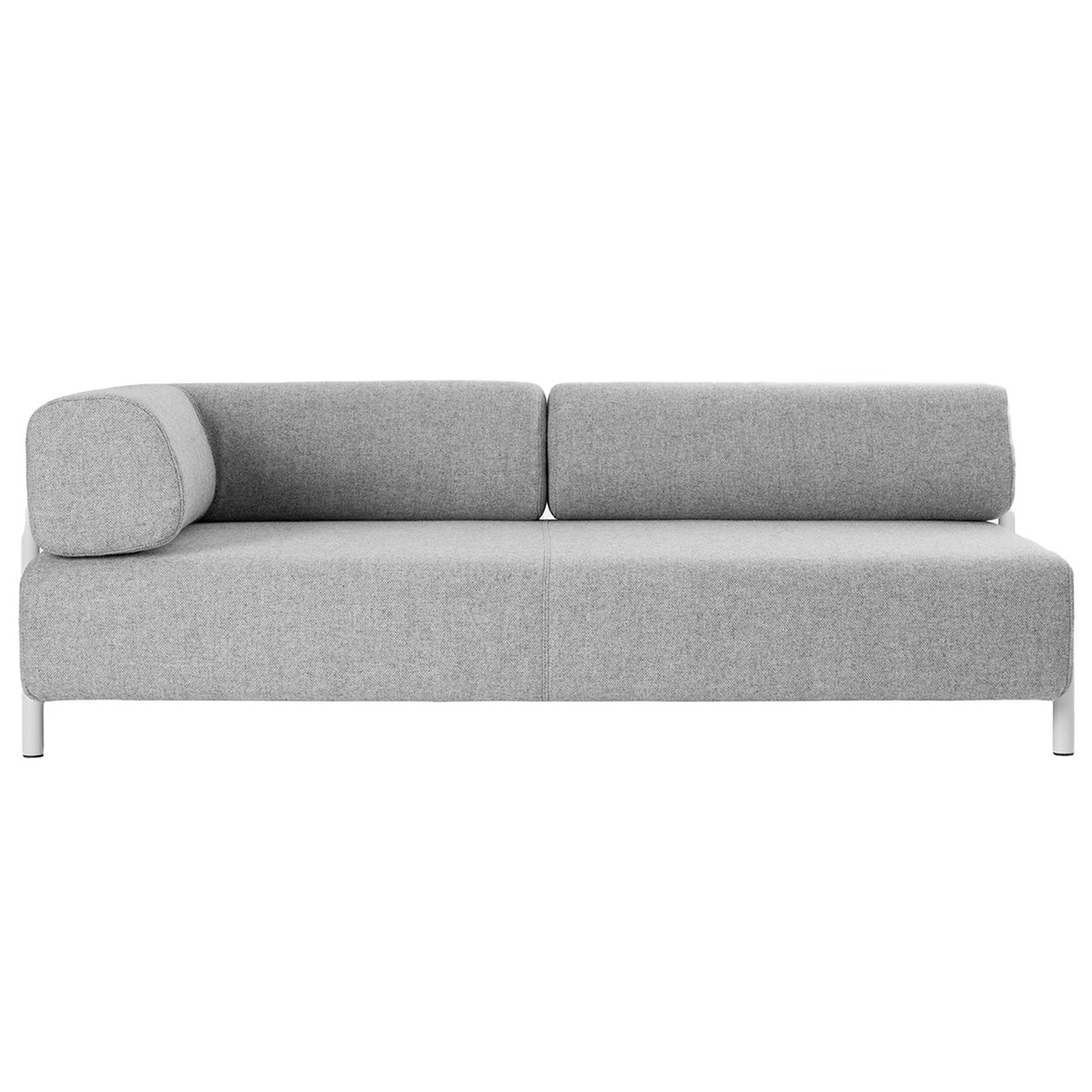 Hem Palo 2 Seater Chaise Left Grey Finnish Design Shop