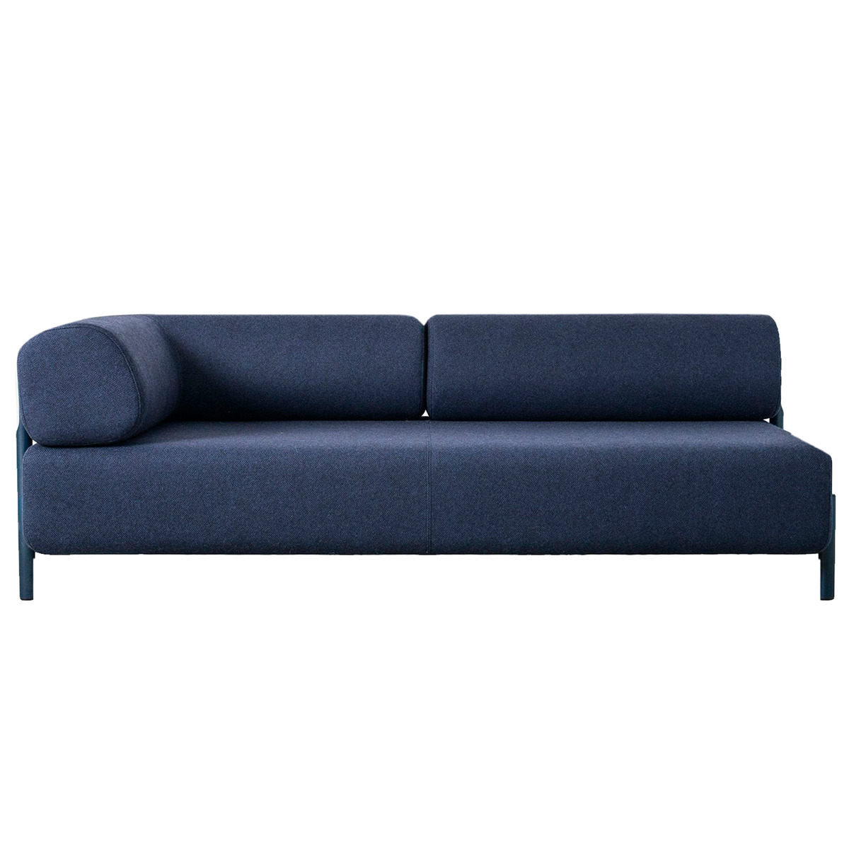 Hem Palo 2 Seater Chaise Left Blue Finnish Design Shop