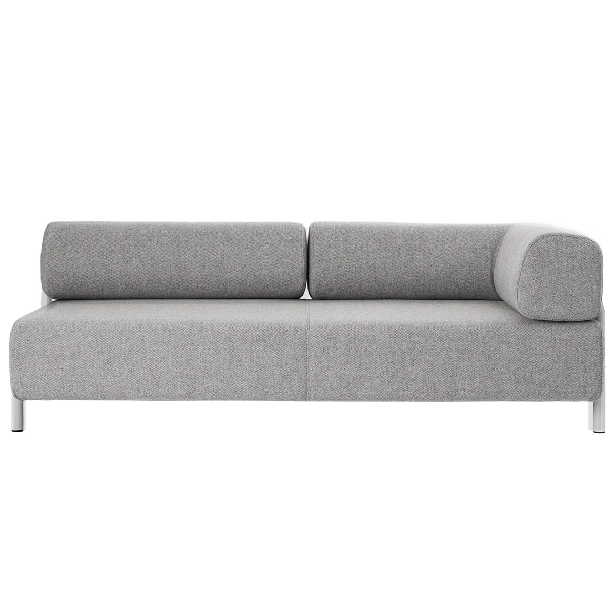 Hem Palo 2 Seater Chaise Right Grey Finnish Design Shop