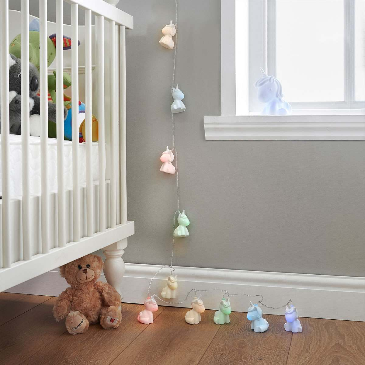 Fairy Lights Kids Room Battery Operated Unicorn Fairy Lights Colour Changing