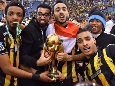 4 أرقام في تتويج كهربا بلقب كأس ولي العهد مع اتحاد جدة