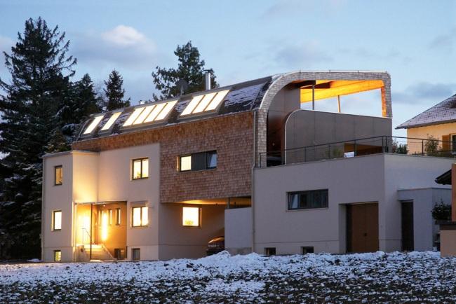Holzschindeln als harzerischer Blickfang a la Harzresort, in - Haus Modern