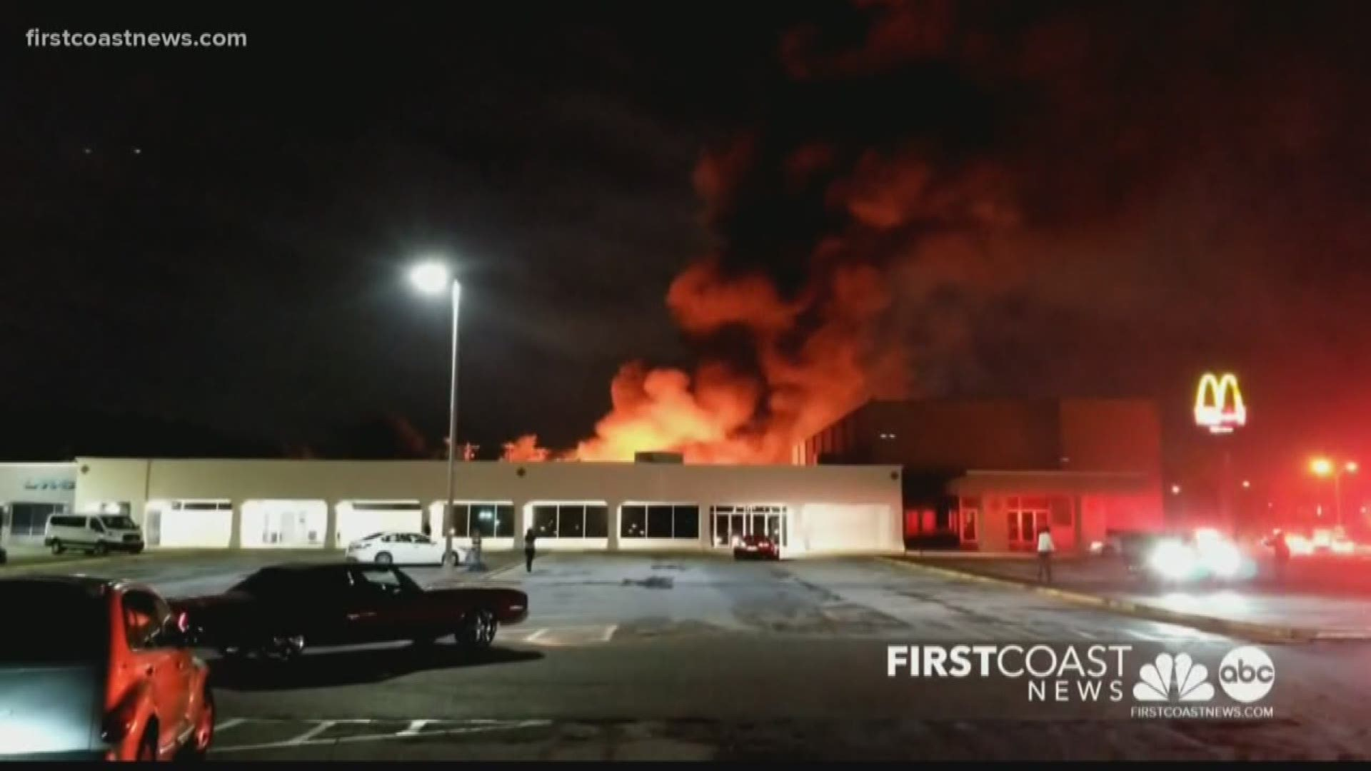 Old Thunderbird Motor Hotel Destroyed By Fire Firstcoastnews Com