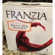 Franzia Sangria Fruity Red Wine Calories Nutrition