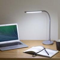 Satechi Flexible LED Desk Lamp with USB Charger | Gadgetsin