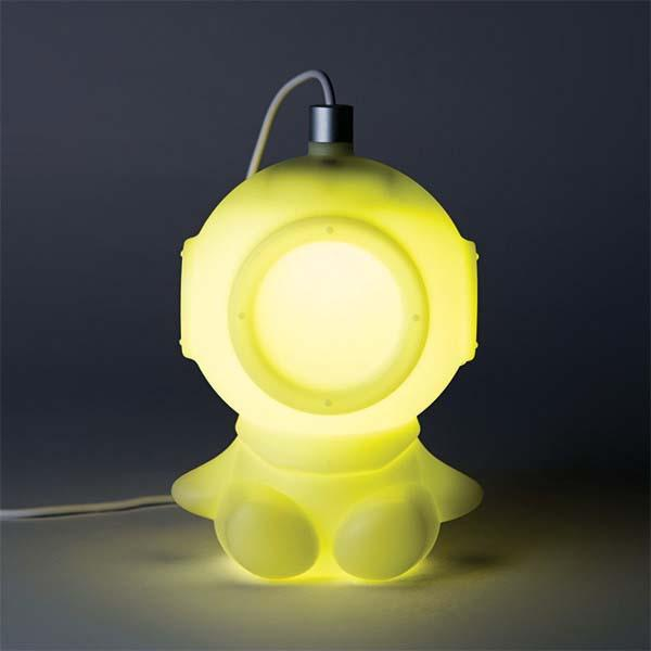 Lamp Bulb The Pretty Cute Diver Mood Light | Gadgetsin